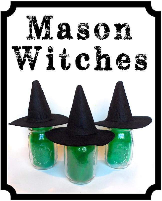 mason jar witches