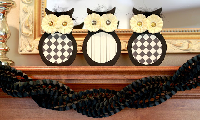 12 fall owl crafts ideas and tutorials uncommon designs for Halloween crafts for adults decorations