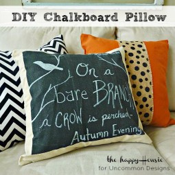 DIY_Chalkboard_Pillow_Uncommon_Designs