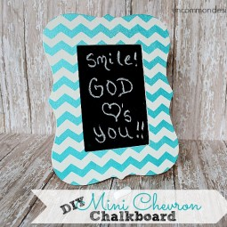 DIY_Mini_Chevron_Chalkboard_UncommonDesigns