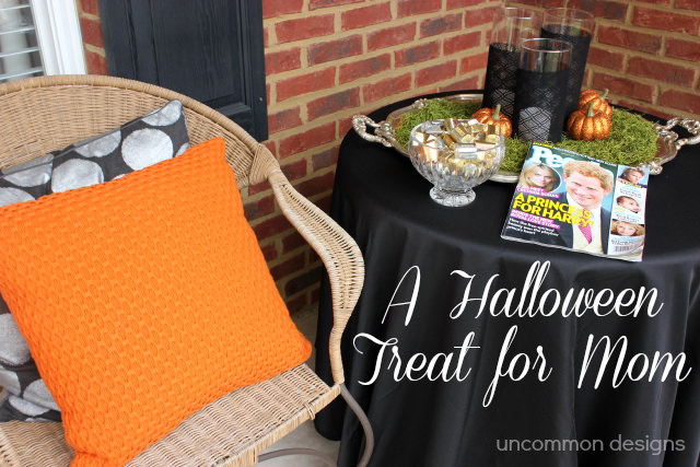 Halloween treat for mom