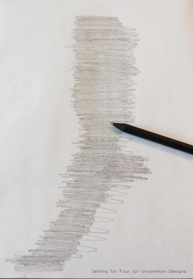 how to make a pencil transfer