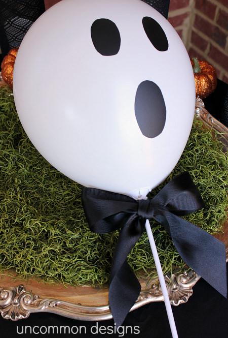 halloween table centerpiece