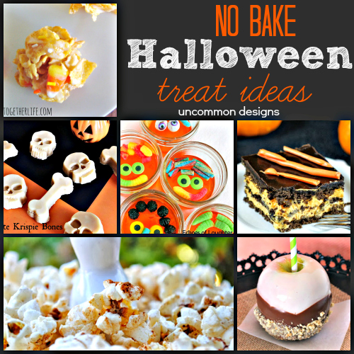 No Bake Halloween Treat Ideas