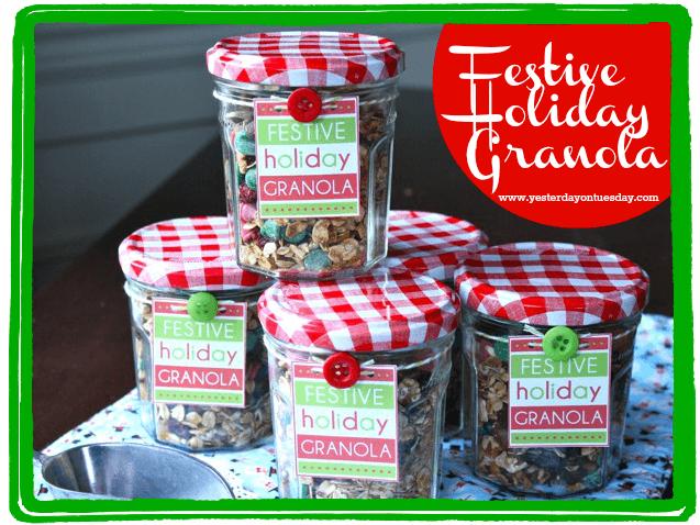 holiday granola
