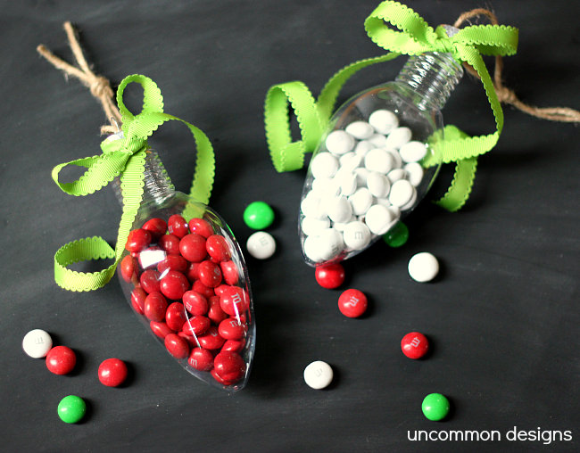 Candy Filled Ornaments