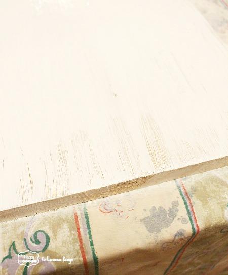 distressing-paint-using-vaseline