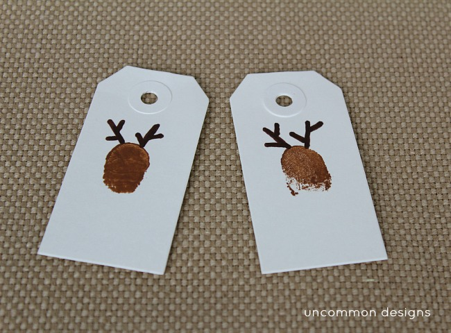 diy_reindeer _thumbprint_art