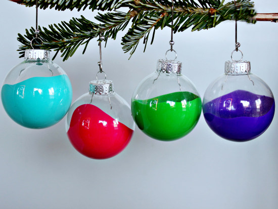 pantone inspired ornaments