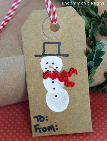 snowman_thumbprint_gift_tag