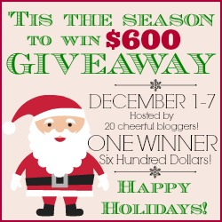 tis the season giveaway button