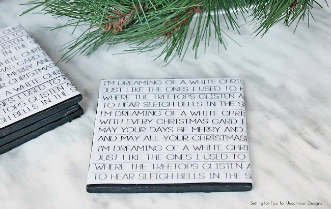 Christmas_song_lyric_diy_coasters