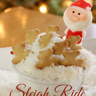 Sleigh Ride Christmas Cupcakes