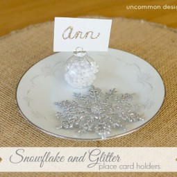 snowflake-glitter-place-card-holders