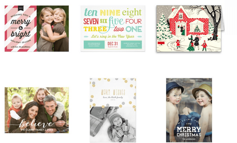 zazzle christmas cards
