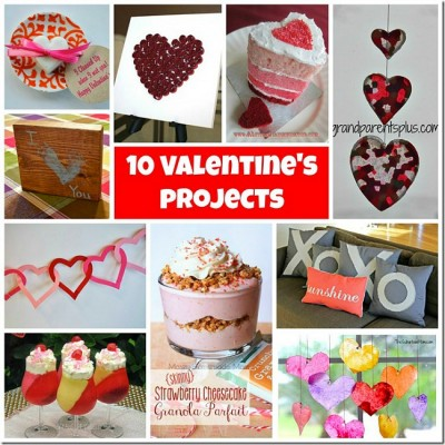 10 Valentine Projects and Monday Funday { 52 }