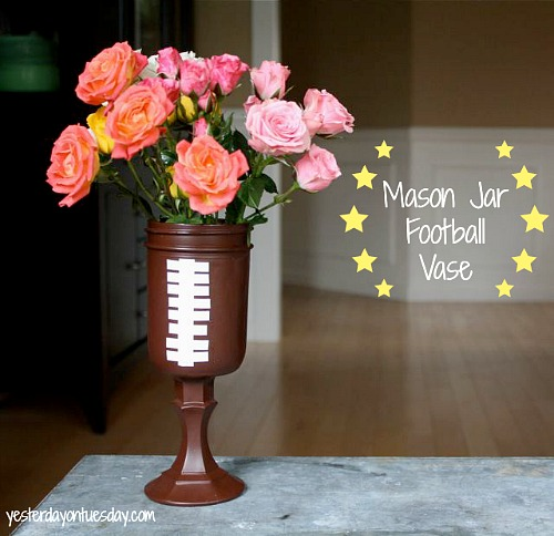 DIY-Football-Vase