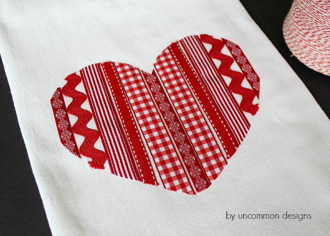 valentine-tea-towel-ribbons
