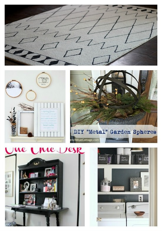 10 Awesome DIY Projects from the 6 blog Monday Funday link party. #linkpartyfeatures #linkparty #diyprojects