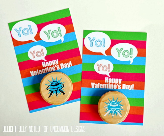 Classroom Design For Valentines ~ Printable valentine s yo card a free