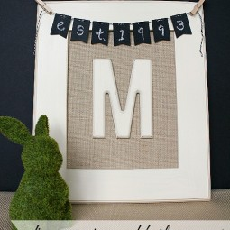diy-monogrammed-burlap-canvas-#mpinterestparty