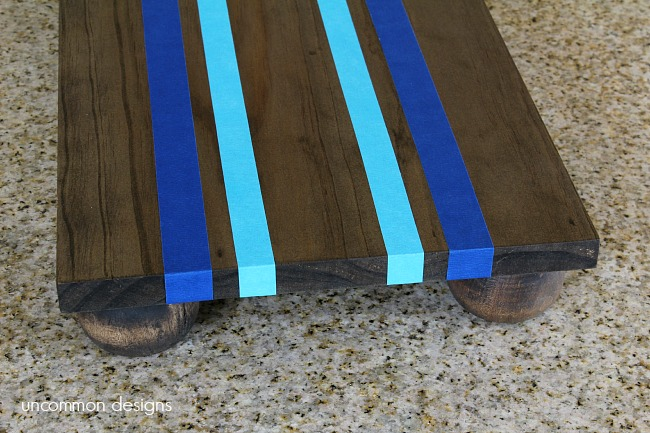 painted-wooden-server-ticking-stripes