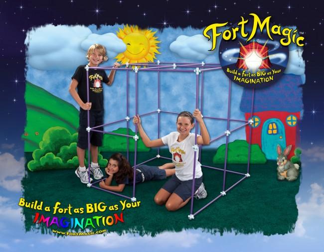 Fort Magic Fort Building Kit Giveaway www.uncommondesignsonline.com