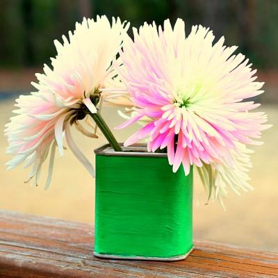 Spice Tin Vase