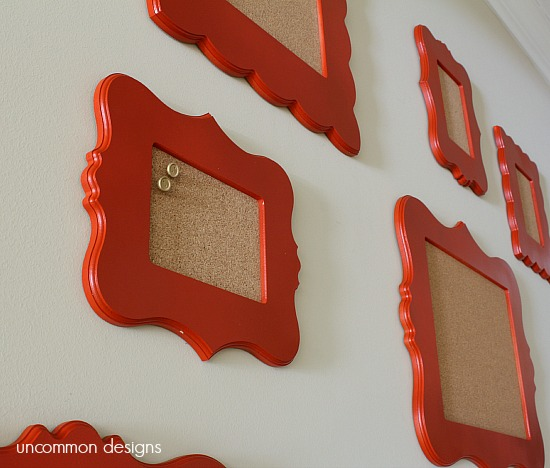 cork-board-gallery-wall-uncommondesigns