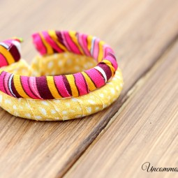 How to Make a Shower Curtain Ring Bracelet