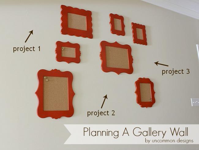 DIY Framed Cork Boards. #cutitout #unfinishedframes #homedecor #organizing #photos