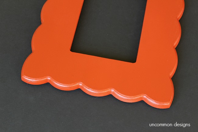 spray-painted-wood-frames-uncommondesigns