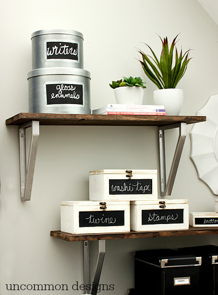using chalkboards in the home chalkboard projects you wont want to miss beautiful home office chalkboard