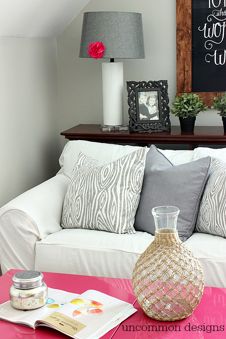 Craft Room Inspiration via www.uncommondesignsonline.com #CraftOrganization #CraftRoom