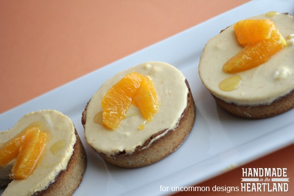 Mango Citrus Cream Tart with a Toasted Almond Crust. A delicious dessert! #mango #dessert #tart #almonds