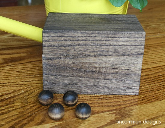 stained-wooden-recipe-box