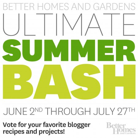 BHG Summer Bash! Vote for your favorite blogger projects each week! #bhgsummerbash