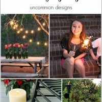 Easy Outdoor Lighting Ideas... Light the Way to a Gorgeous Party! www.uncommondesignsonline.com