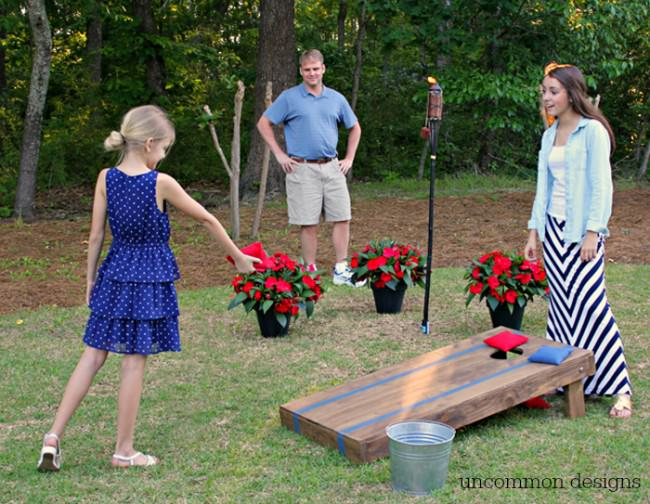 Backyard Fun and Games for the Family via www.uncommondesignsonline.com