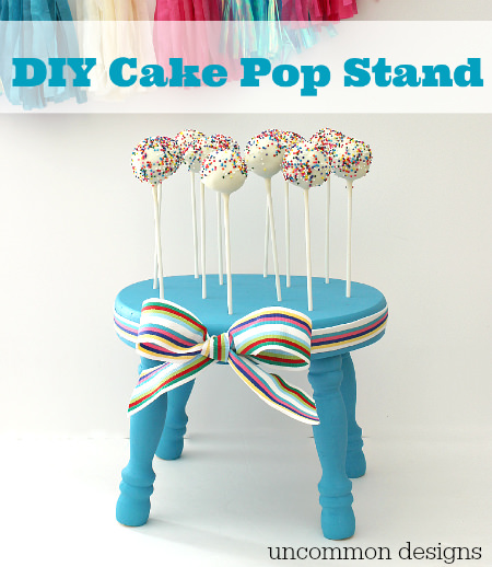 Design Your Own Cake Stand : DIY Cake Pop Stand - Uncommon Designs