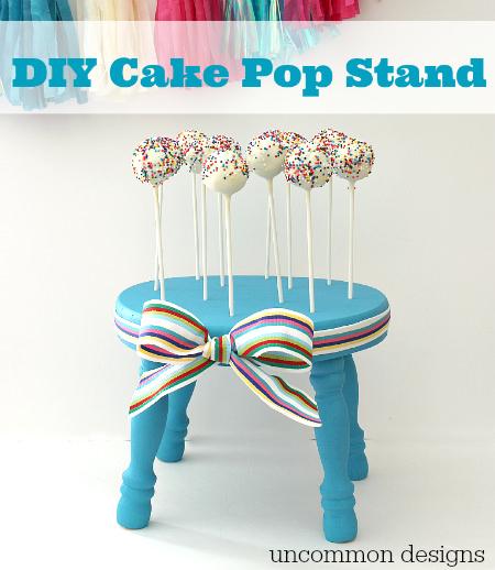 DIY Cake Pop Stand - Uncommon Designs