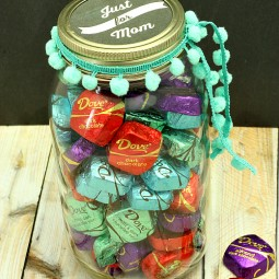 Just for Mom… A Sweet Treat and Mason Jar Printable