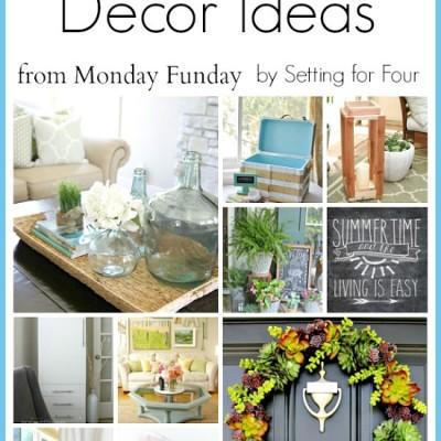 10 Summer Decor Ideas | Monday Funday