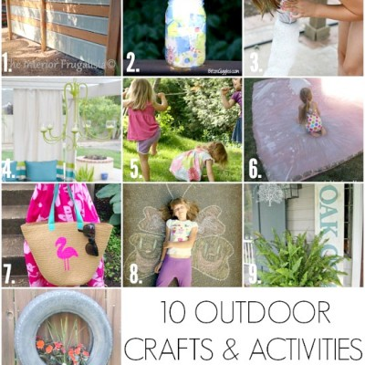 10 Outdoor Crafts and Activities | Monday Funday