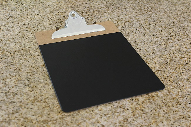 How To Make Chalkboard Clipboards - Uncommon Designs
