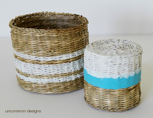 striped-painted-baskets-uncommon-designs