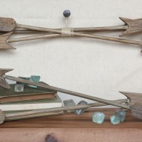 Reclaimed Wood Arrows