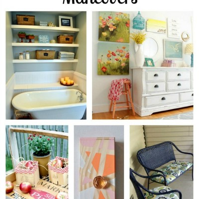 5 Fantastic DIY Makeovers and Fall Recipes | Monday Funday