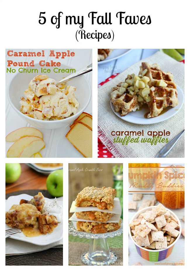 5 Fall Recipes sure to be favorites from the Monday Funday party!