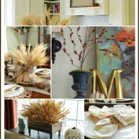 Fall Home Tour Collage